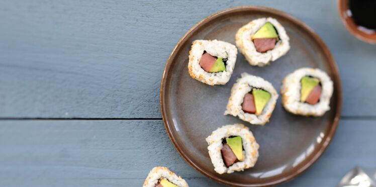 California maki saumon avocat