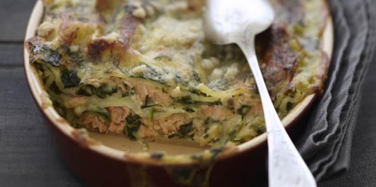 Recette lasagne saumon épinard