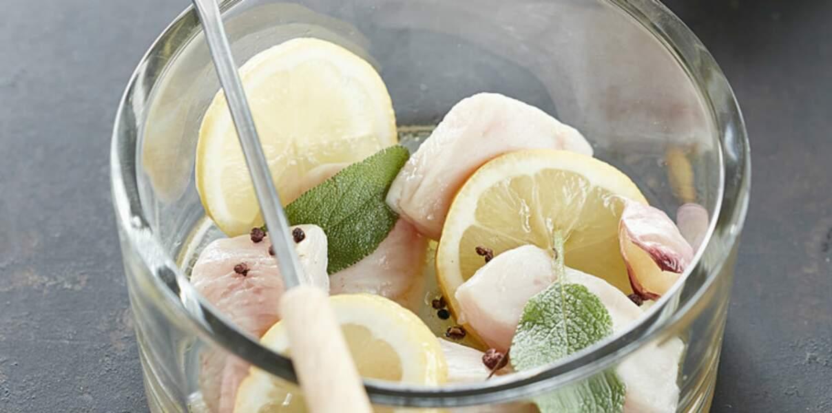 Marinade au citron pour poulet
