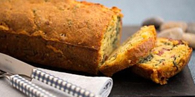 Cake au jambonneau et aux algues bretonnes