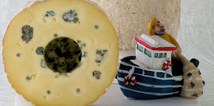 Bleu d'émeraude et son tartare d'algues