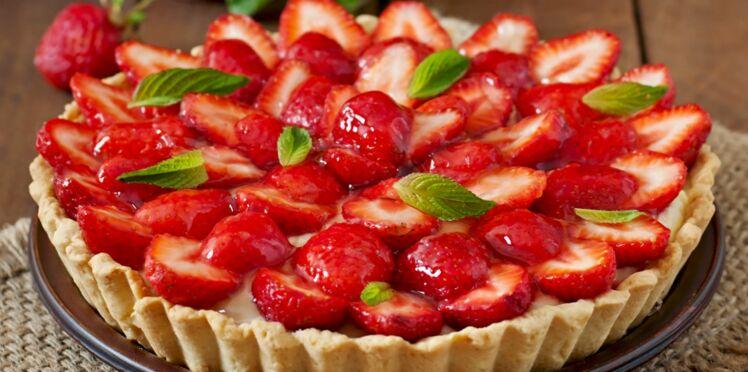 Tarte aux fraises à l'ancienne