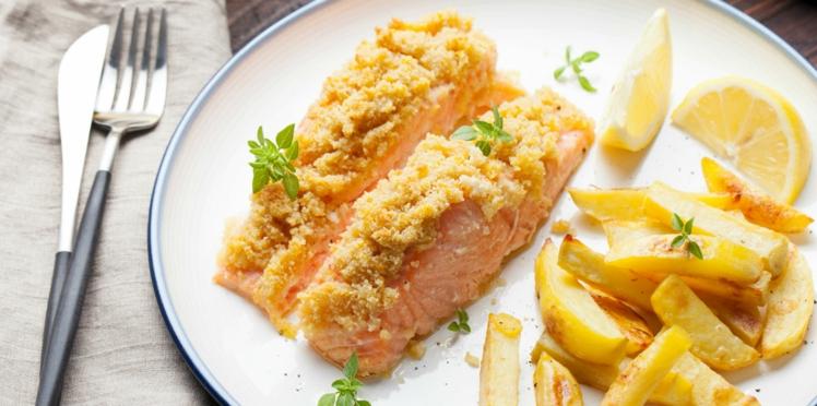 Crumble de saumon