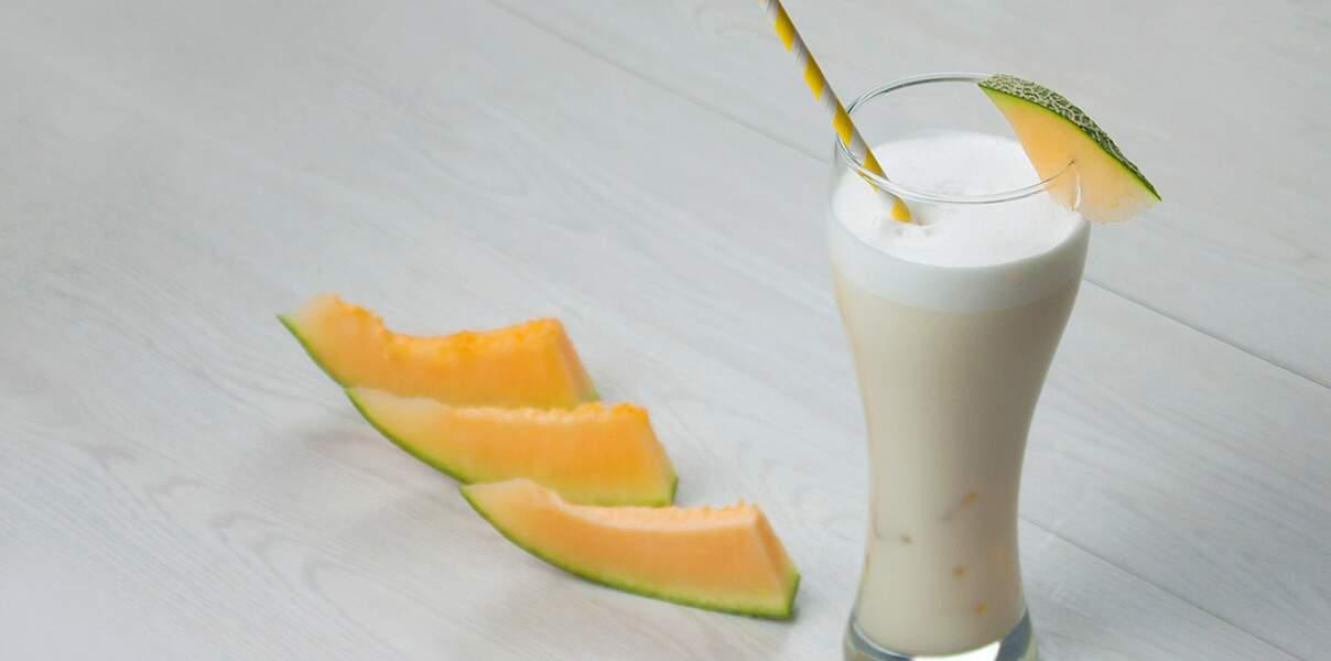 Thé glacé lacté au melon