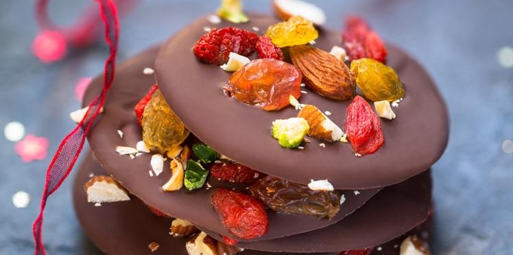 Palets gourmands au chocolat