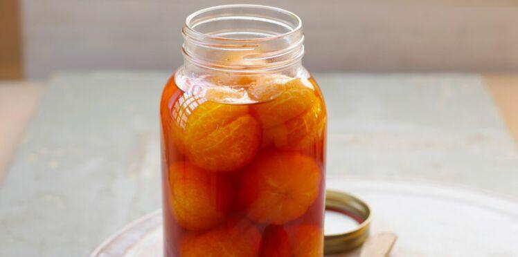 Mandarines au caramel