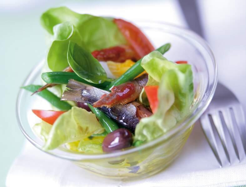 Salade de sardine à la niçoise