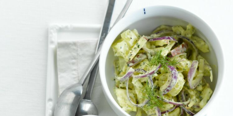 Salade froide aux pommes de terre