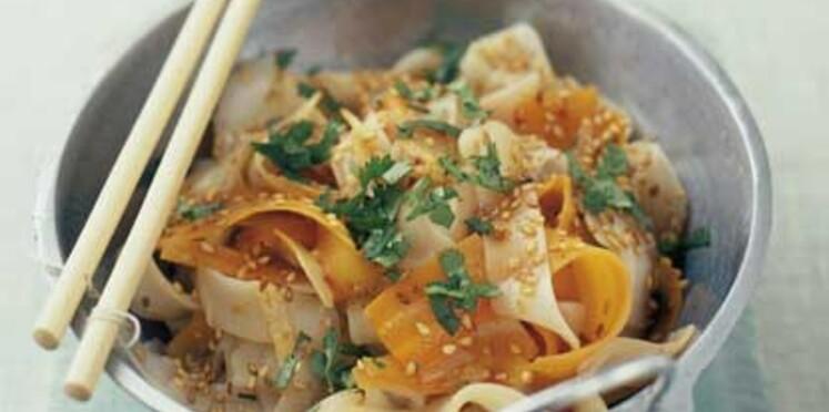 Nos recettes au wok et vapeur