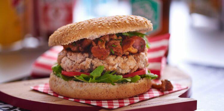 Le burger de l'automne