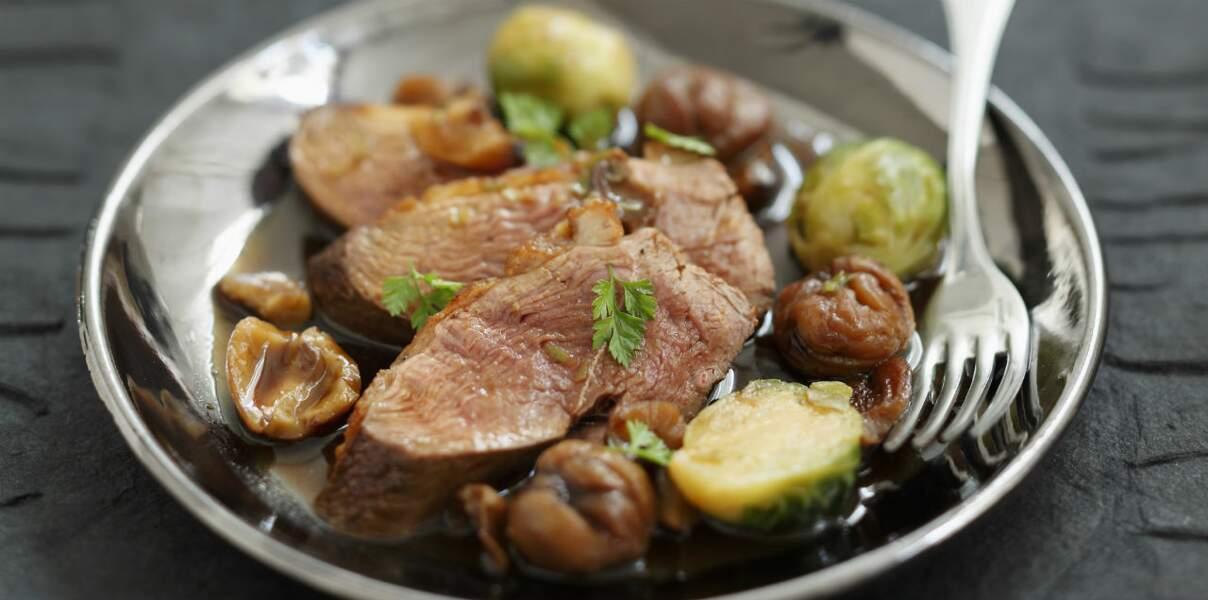 Magrets sauce périgourdine