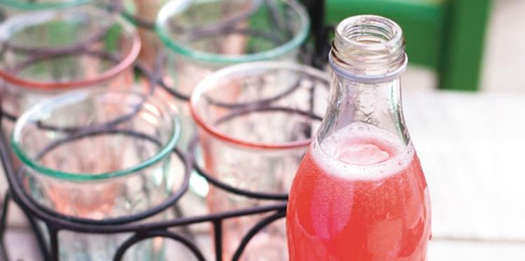 Soda naturel framboise-pomelo