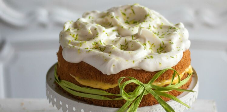 Lemoncake meringué