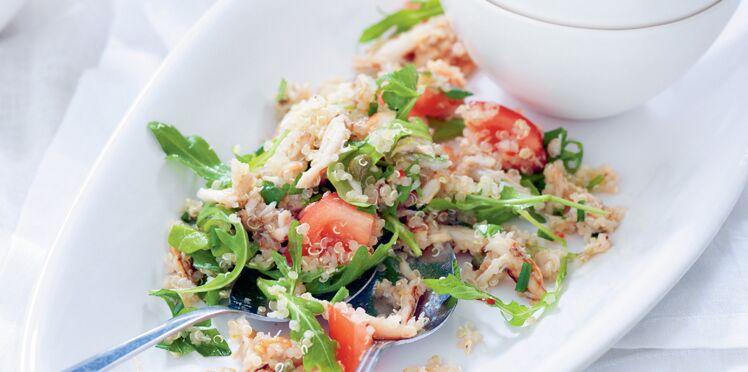 Salade crabe au quinoa