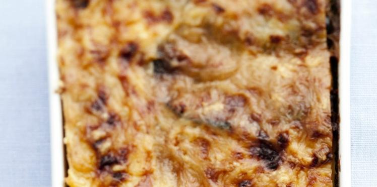 Lasagnes de moussaka