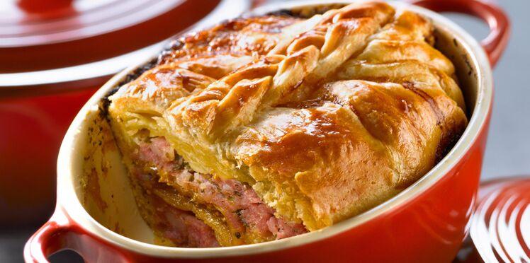 Cocotte de pâté de porc aux figues