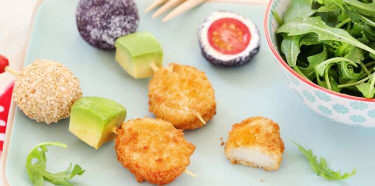 Brochettes de crousti nuggets