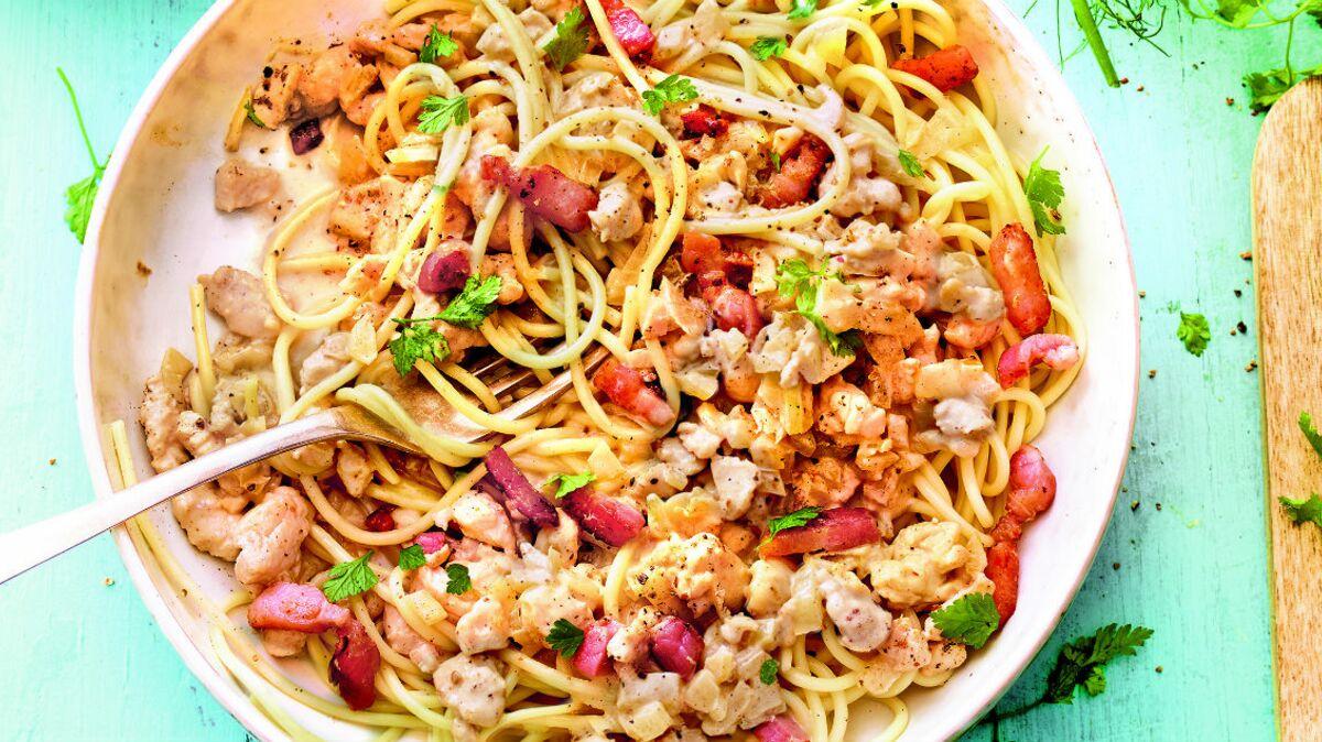 Spaguettis à la bolognaise blanche (4 SmartsPoints par pers.)
