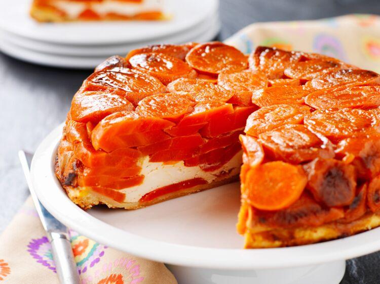 Tarte tatin aux carottes d couvrez les recettes de - Recettes de cuisine femme actuelle ...