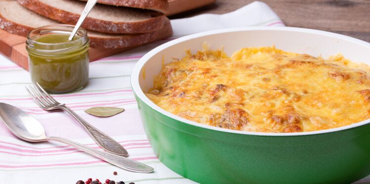 Toasts au fromage gratinés