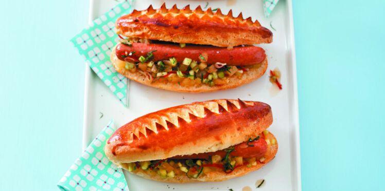 Hot-dog sauce sweet & sour