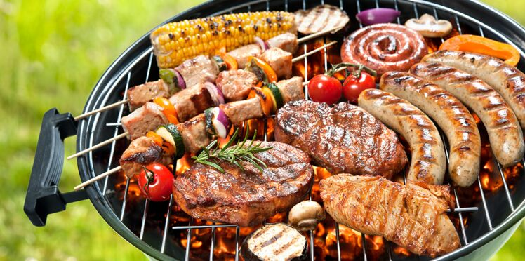 Idee Repas Barbecue.Mixed Grill Au Barbecue