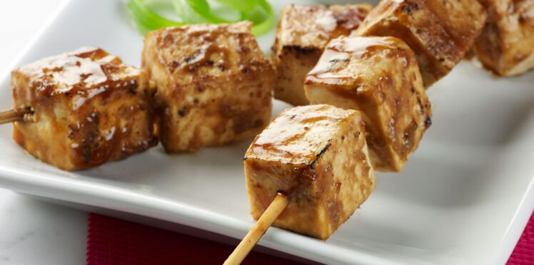 Tofu sauce satay aux amandes