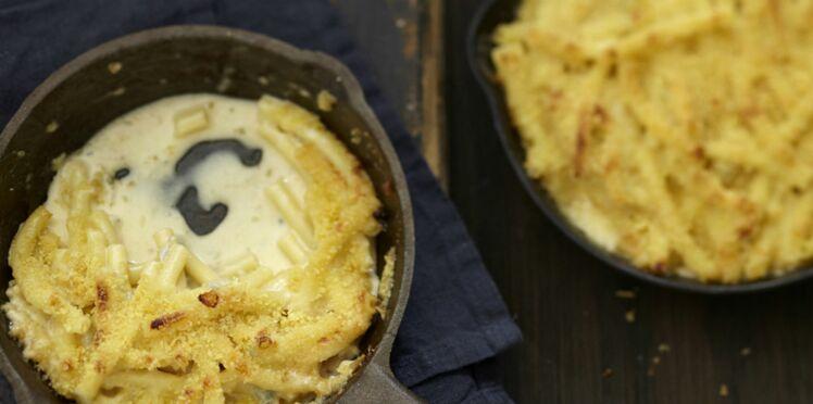 Pâtes aux 3 fromages