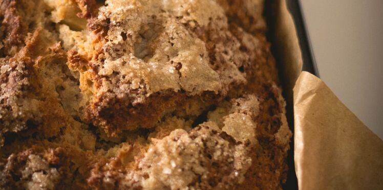 Gâteau à la farine de châtaigne et miel de châtaignier