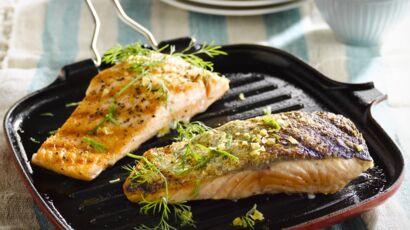 Pavé de saumon au barbecue facile et rapide : découvrez les