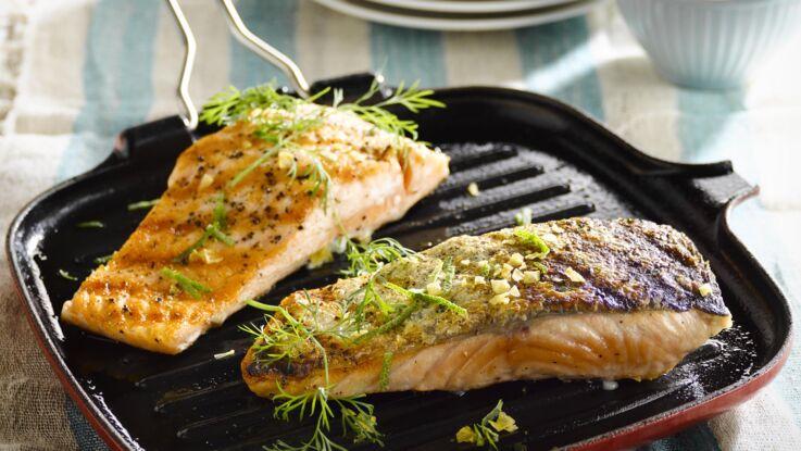 Pavé de saumon à la poêle