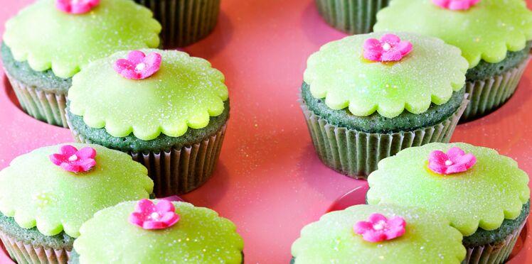 Cupcake à la pistache et à la framboise (Beauties)