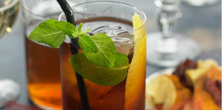Cocktail Mojito-thé