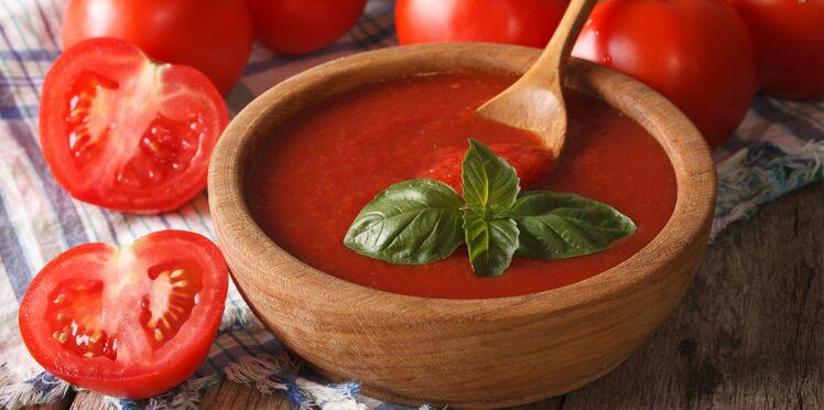 Coulis de tomates au basilic