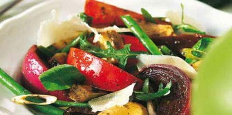 Salade de légumes au pistou
