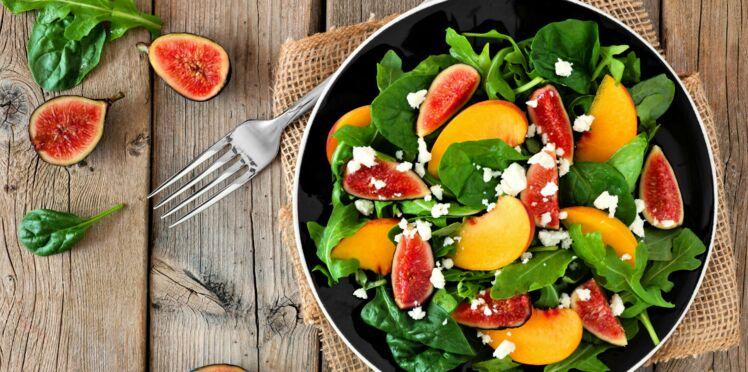 Salade de roquette à la nectarine