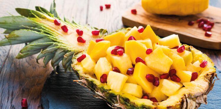 Tartare de fruits exotiques