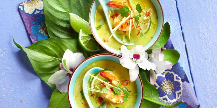 Soupe thaïe de la mer