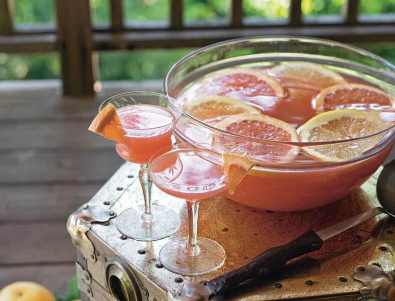 Cocktail Pomelo mimosa