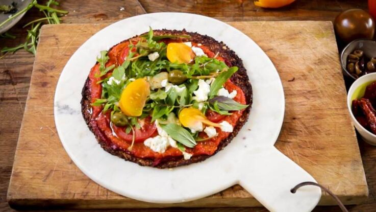 Recette sans gluten : la pizza au chou-fleur
