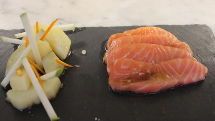 La recette pas chère de Grégory Cuilleron : le gravlax de saumon