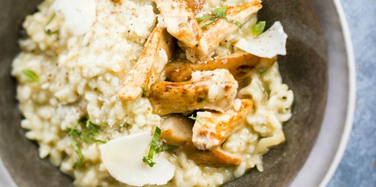 Recette de risotto au poulet