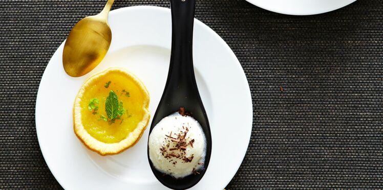 Mini-tartelettes au citron vert et mojito glacé