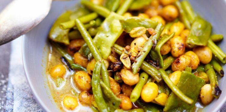Curry aux trois haricots