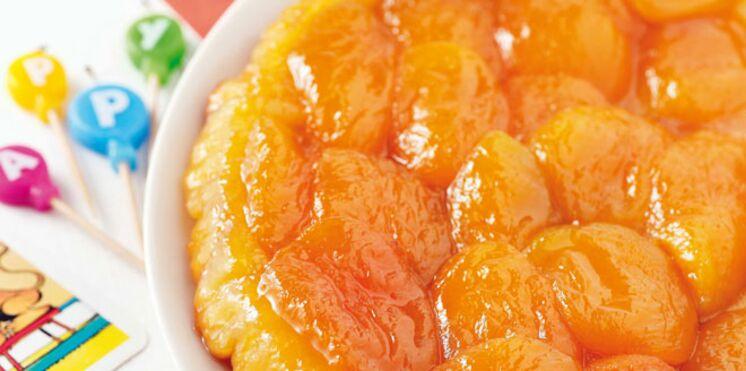 Tarte Tatin aux abricots facile et rapide