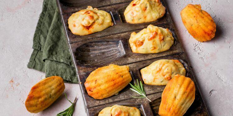 madeleines au fromage raclette chorizo et romarin d couvrez les recettes de cuisine de. Black Bedroom Furniture Sets. Home Design Ideas