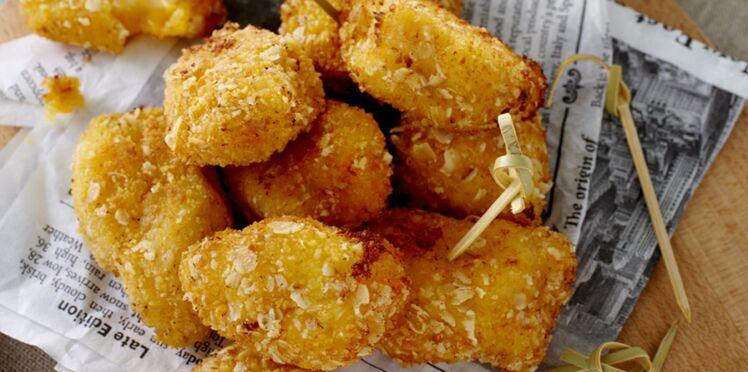 Croquettes de pomme de terre au fromage fondant