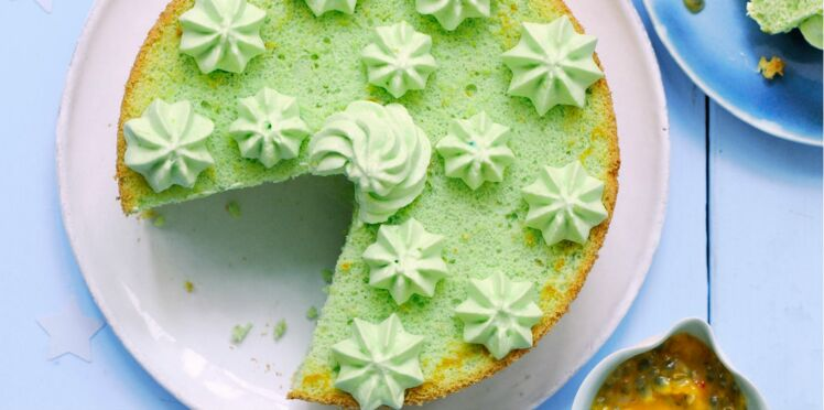 Angel cake au citron vert