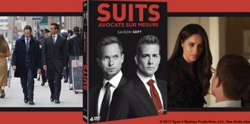 SUITS Saison Sept : 30 coffrets 4 DVD à gagner