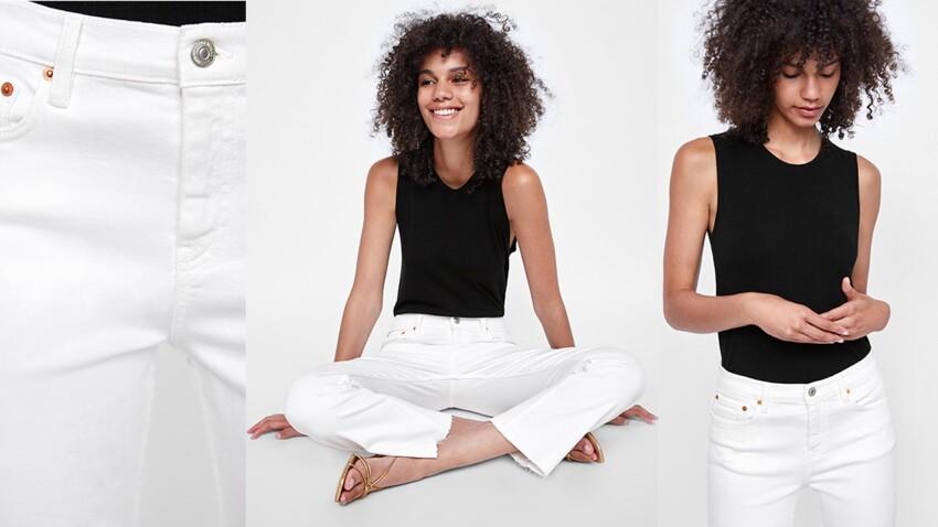 5 questions à se poser avant d'acheter son jean blanc